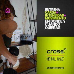 Cross40®: Clase Online